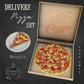 Vintage Touch Delivery Pizza Set (Meatza)