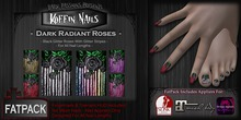 DP - Koffin Nails - FatPack - Dark Radiant Roses (Boxed)