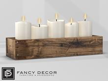 Fancy Decor: Candle Box