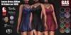 GAS [Loose Dress Jillian - 10 Colors w/HUD FATPACK]