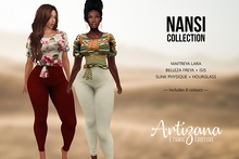 Artizana - Nansi Collection - Blouse + Leggings (Fatpack + HUD)