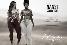 Artizana - Nansi Collection (Demo) - Blouse + Leggings