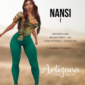 Artizana - Nansi I - Blouse + Leggings