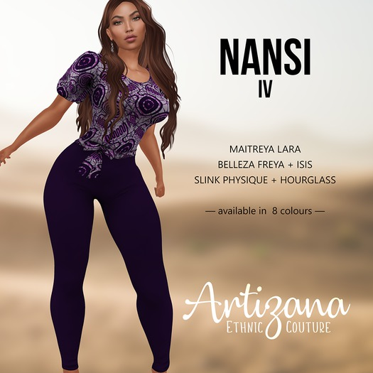 Artizana - Nansi IV - Blouse + Leggings