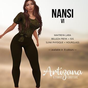 Artizana - Nansi VI - Blouse + Leggings