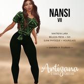 Artizana - Nansi VII - Blouse + Leggings
