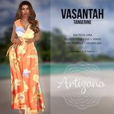 Artizana - Vasantah (Tangerine) - Sundress