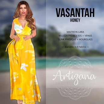 Artizana - Vasantah (Honey) - Sundress