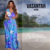 Artizana - Vasantah (Azure) - Sundress