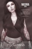 Artizana - Nasira Collection - Split-Sleeve Crop Blouse [DEMO]