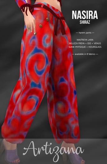 Artizana - Nasira (Shiraz) - Harem Pants