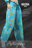 Artizana - Nasira (Ocean) - Harem Pants