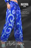 Artizana - Nasira (Azure) - Harem Pants