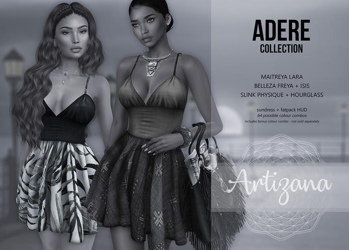 Artizana - Adere Collection  - Sundress + Fatpack HUD (Demo)