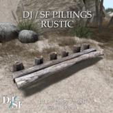 DJ / SF Pilings - Rustic - Boxed