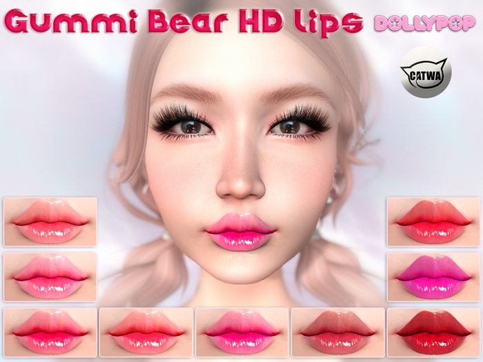 ~Dollypop~ Gummi Bear Catwa HD Lips