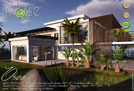 inVerse® MESH - Osoe -  full furnished  modern house villa hi-definition
