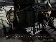 :DH: Halloween Grimm's Manor (Mesh)