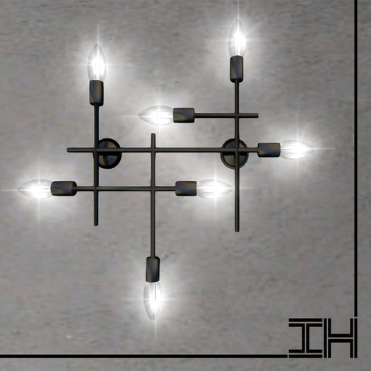 "Wall lamp ""Grid"" 1prim"