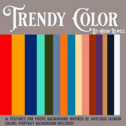 Heidi Rewell - Trendy Color