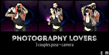 Photography lovers (3 couples poses)