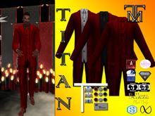 *TM* Titan Dalvin Ruby Suit