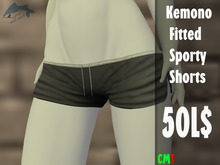 Kemono Fitted Sporty Shorts