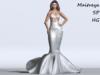 ~PP~ Pure Sequined Mermaid Formal Skirt Set
