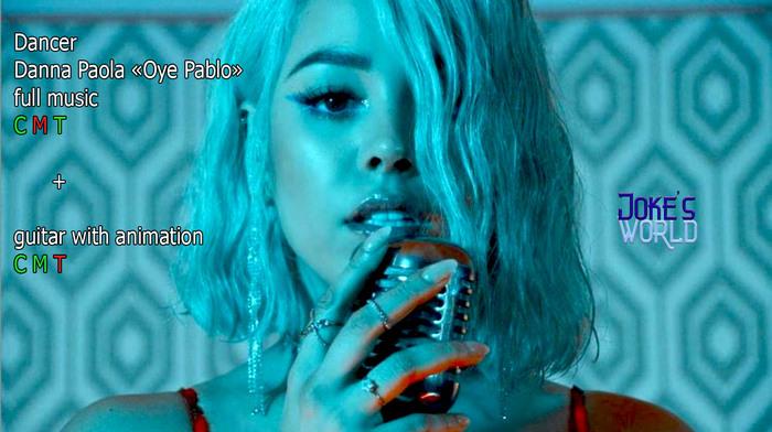 "[Joke's World] Dancer + guitar Danna.P ""Oye Pablo"" (boxed)"