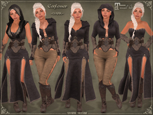 Confessor * DARK * Outfit by Caverna Obscura - Maitreya only!
