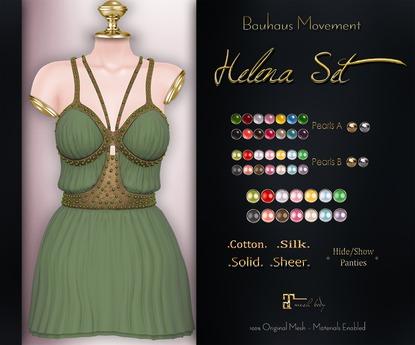 Bauhaus Movement - Helena Dress  / Maitreya / FATPACK