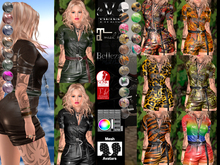 V-Twins- Casual Clothes - Hurricane Collection **MESH Outfit [Mesh Bodies Compatible] Maitreya Slink Belleza