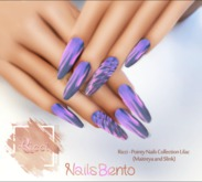Ricci - Pointy Nails Collection Lilac (Maitreya and Slink)
