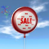 Balloon - Sale Red