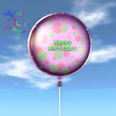 Balloon - Happy Birthday Dots2