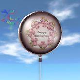 Balloon - Happy Anniversary - Transfer - Xntra City Balloons