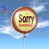 Balloon - I'm Sorry Sunshine