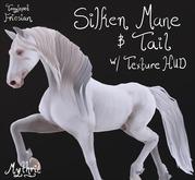 ~Mythril~ Silken Mane & Tail (Teeglepet Friesian)