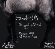 ~Mythril~ Simple Fluffs (Teeglepet Friesian)