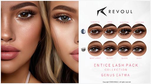 REVOUL - Entice Lash Pack / Genus Catwa