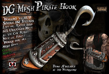 DG-P 515 Mesh Advanced Pirate Hook -Unrigged- Fit for any Mesh Body