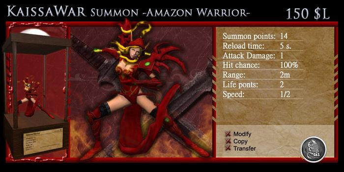 Summon [KS] - Amazon Warrior [G&S]