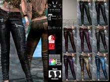 V-Twins Biker Clothes - Individual Items Mesh Pants/Jeans - Manhattan Special Version (Slink, Belleza & Maitreya)