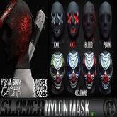 Razor/// Slayer - Nylon Mask - GACHA - Green Clown