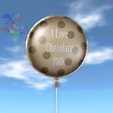 Balloon - I Love Chocolate Milk