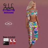 ~SWD~ Bandolera Outfit 80's