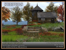 TMG - KEEPERS COTTAGE IN AUTUMN* Fairy Tale home and landscaped garden