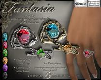 Fantasia Art Nouveau Ringset