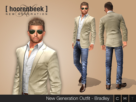 Complete Outfit - Bradley - Signature, Belleza, SLink, Classic Avatar