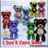 [Boomerang] - I don't care bear -  Iggy Box
